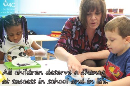 All children deserve a chance at success in school and in life!